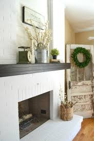 How To Paint A Table by How To Paint A Brick Fireplace Little Vintage Nest