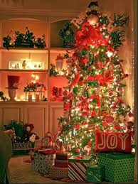 stunning christmas tree decorating with ribbon garland on with hd