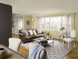 yellow colour schemes living room home decor color trends cool in
