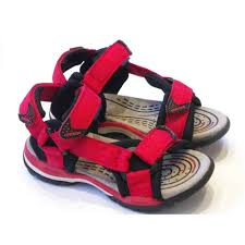 boys sandals fisherman sporty and water sandals poppy red