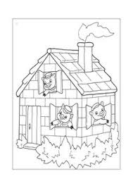 free printable coloring image pigs 11