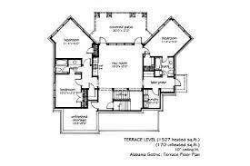 Gothic Architecture Floor Plan 1 703 Sq Ft U2022 Alabama Gothic L Mitchell Ginn U0026 Associates