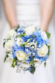 blue wedding bouquets 35 something blue bridal bouquets white roses hydrangea and