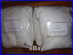 Emery Drapes Pottery Barn Emery Linen Cotton Drapes 2 100 X 96 White