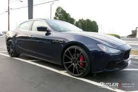 maserati ghibli grey black rims maserati ghibli with 22in savini bm12 wheels exclusively from