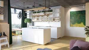 kitchens with open shelving ideas decorating ideas white painted wooden contemporary kitchen open