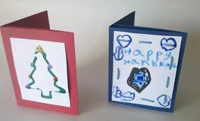 homemade holiday christmas gift card holder kids can make