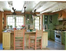 Kitchens With Green Cabinets by Shabby Chic Kitchen Ideas For White And Sleek Design Lover