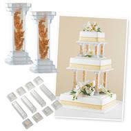 cake pillars cake decorating supplies cake assembly separator plates
