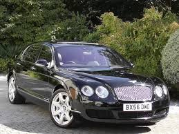 bentley continental flying spur used beluga black met with beluga mulliner hide bentley