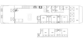 6 bedroom floor plans five houseboat vacations royal palms