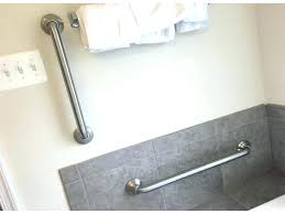 designer grab bars for bathrooms bathtubs bathroom safety handrails bathtub safety rail canada lowes