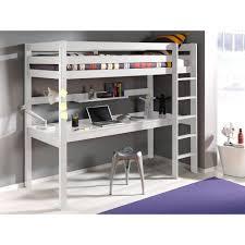 Lit Mezzanine Bureau Ado by Lit Mezzanine Bureau Blanc Lits Chambre Literie Lit Mezzanine