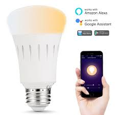 light bulbs that gradually get brighter smart lights a19 e26 9w tunable white