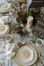 Pine Cone Wedding Table Decorations 50 Winter Decorating Ideas Home Stories A To Z