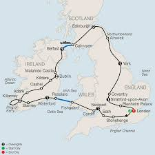 English Channel Map Map Highlights Of Britain U0026 Ireland 2017