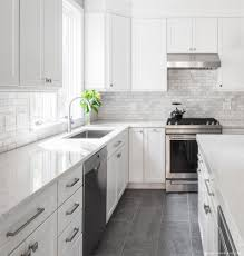 pics of kitchens with white cabinets and gray walls 75 beautiful gray kitchen pictures ideas april 2021 houzz