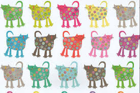 cat christmas wrapping paper flower cat gift wrap cool wrapping paper for cats at tattypuss