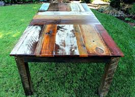 large outdoor dining table ideas rustic outdoor dining furniture and rustic outdoor dining