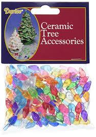 amazon com ceramic christmas tree bulb 5