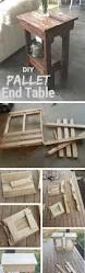 Seating Out Of Pallets by Best 25 Pallet Side Table Ideas On Pinterest Diy Living Room