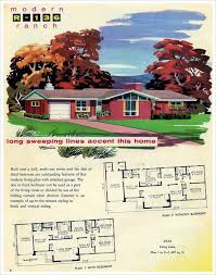 1950s ranch house plans 1959 mid century ranch mid century and ranch