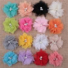 tulle flowers artificial chiffon tulle flower corsage mesh chiffon flower brooch