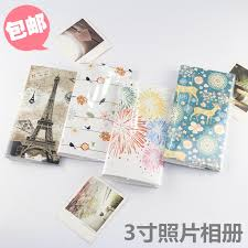 pocket photo albums polaroid 3 4 inch pocket photo album insert type mini creative