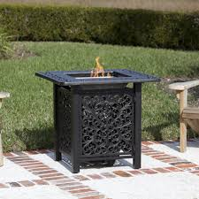 Firesense Table Top Heater Sanremo 32 Inch Propane Gas Fire Pit Table By Fire Sense Antique