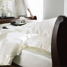 buy gingerlily silk pillowcase ivory amara