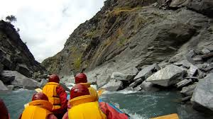 gopro hd white water rafting shotover river youtube