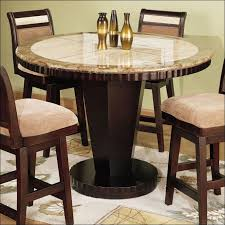 White Pub Table Set - kitchen bar height dining table dining room table height dining