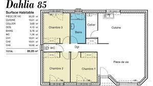 modele maison plain pied 4 chambres modèle maison plain pied dahlia 85