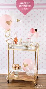 gold baby shower how to throw the cutest pink and gold baby shower kate aspen