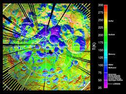 Arizona Temperature Map by Nasa Lro Supports Historic Lunar Impact Mission