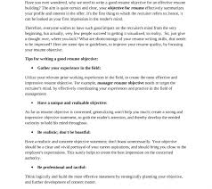 What Is A Good Objective Statement For Resume Whats A Good Resume Objective What To Write On Resume