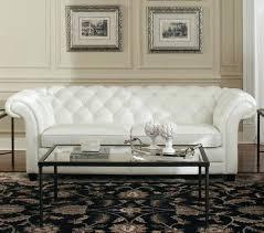 Tufted Sofa Sectional White Leather Tufted Sofa Elkar Club