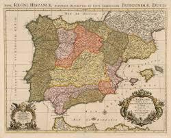 Maps Of Spain Hjbmaps Antique Map Of Spain U0026 Portugal U2013 Hjbmaps Com Harlan J