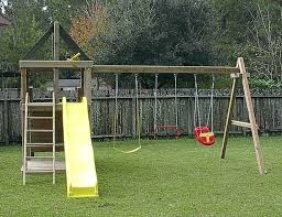amusing backyard fort plans adventurer swing set fort kits plans