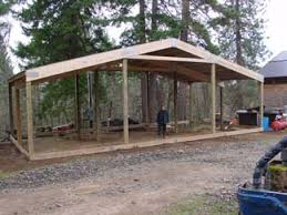 How To Build A Pole Barn Shed Roof by Building The Workshop