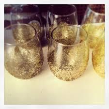 craftcorner diy glittery stemless wine glasses u2013 sweet caroline