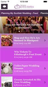 Planning My Own Wedding Planning My Scottish Wedding App