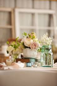 jar flower centerpieces jar wedding centerpieces