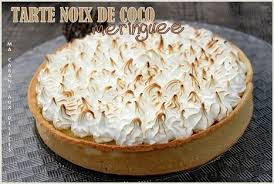 la cuisine de djouza tarte noix de coco meringuee la cuisine de dj