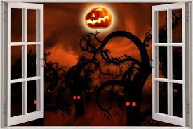 28 halloween wall mural 3d diy halloween ghost mural wall halloween wall mural huge 3d window view midnight forest halloween wall sticker