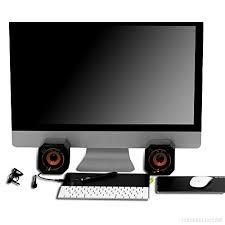 ordinateur de bureau ou portable parleur filaire usb pc pour ordinateur de bureau ordinateur