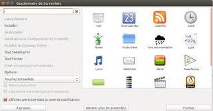 gadget de bureau meteo screenlets documentation ubuntu francophone