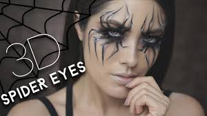 3d spider eyes halloween tutorial melissa alatorre youtube