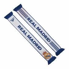 soccer scarf adidas real madrid scarf white purple real madrid