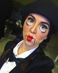 halloween horror nights instagram ventriloquist halloween makeup instagram trend popsugar beauty